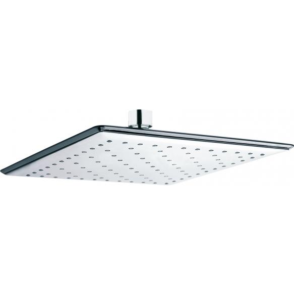 square top shower INTERIA 25 cm, chromed plastic