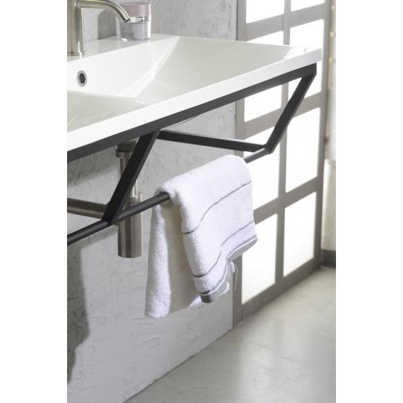 SKA construction under washbasin 750 mm black mat