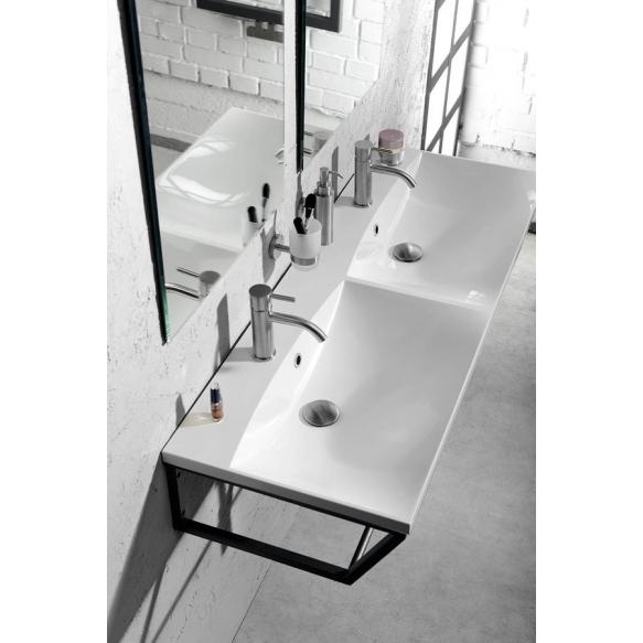 SKA construction under washbasin 1200 mm black mat