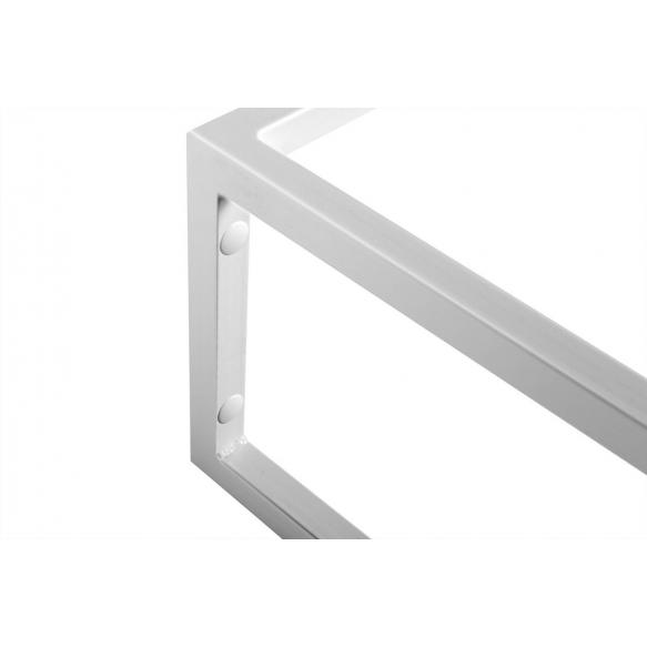 metallist valamukonstruktsioon Ska, 75 cm, matt valge