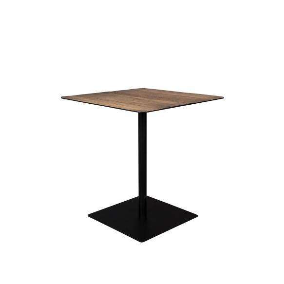 Bistro Table Braza Square Brown