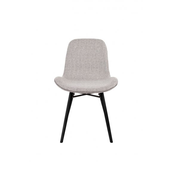 set of 2 chairs Lester Light Grey