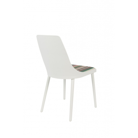set of 2 chairs Olivia White