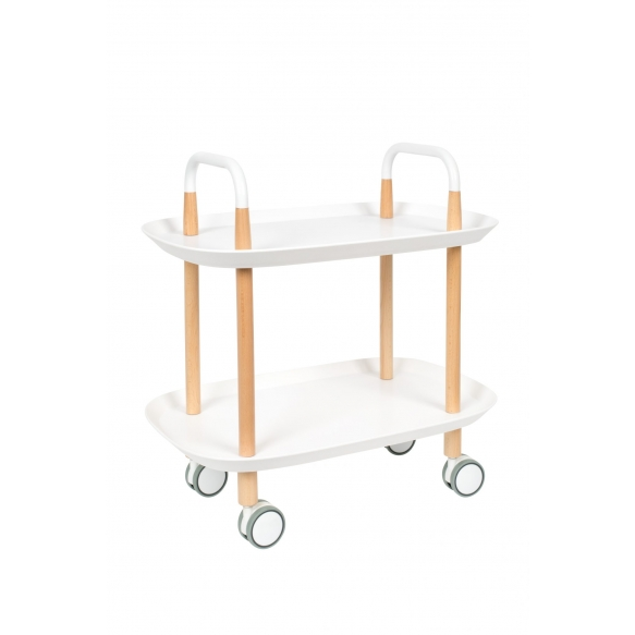 Trolley Cruiser White