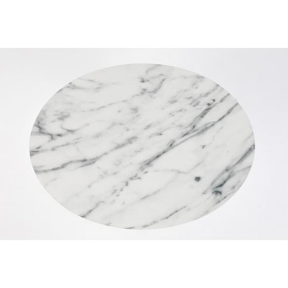ovaalne abilaud Snow Marble