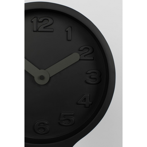 Clock Giant Black