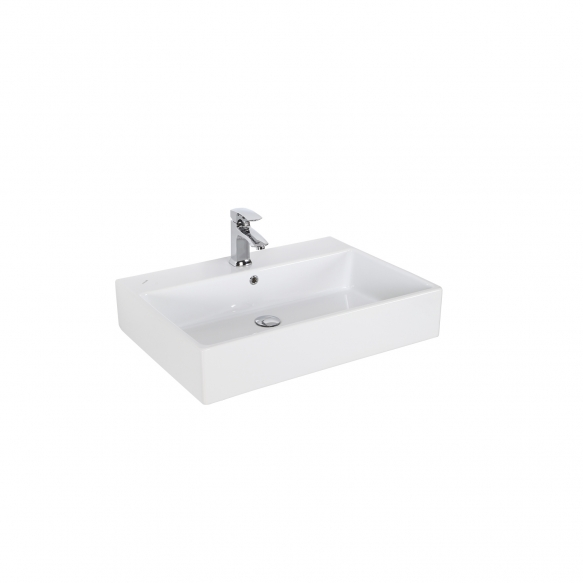 worktop wahbasin Nexus 50x70 cm, white