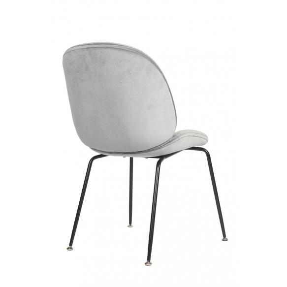 chair Selma, blue fabric (7033-04)