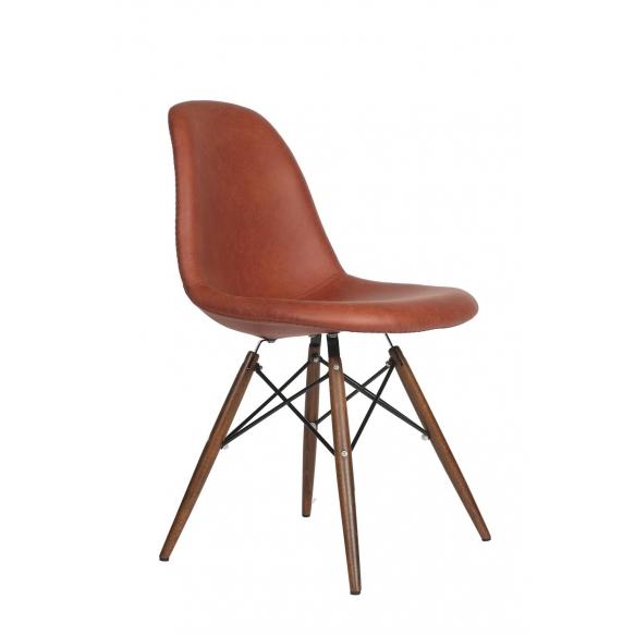 tool Alexis, pruun kunstnahk, pähklipruunid jalad