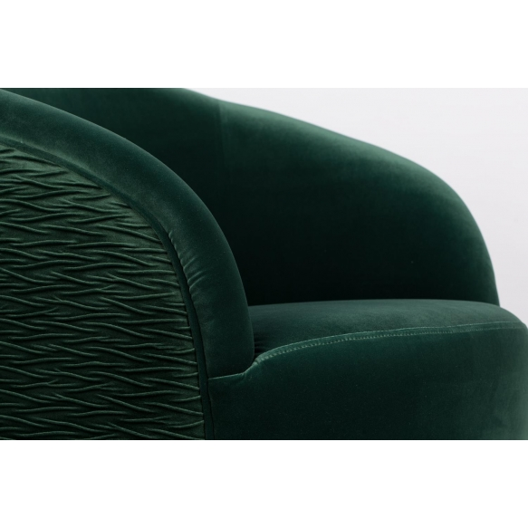 So Curvy Lounge Chair Dark Green