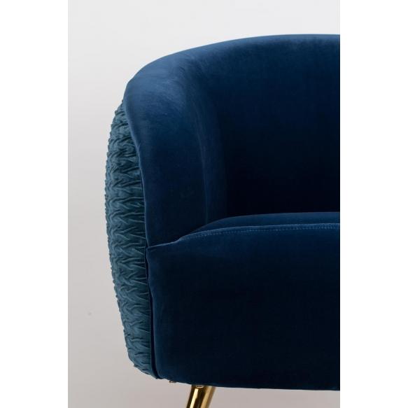 So Curvy Lounge Chair Royal Blue