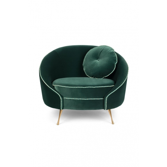 Don'T Love Me Love Seat Dark Green