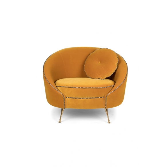 Don'T Love Me Love Seat Ochre