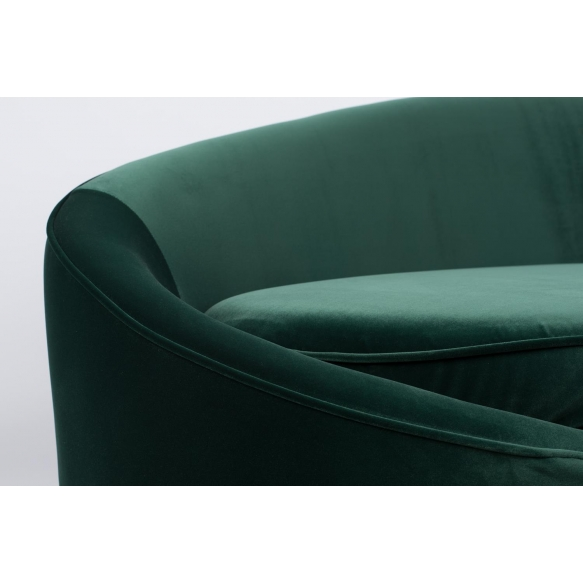 I Am Not A Croissant Sofa Dark Green