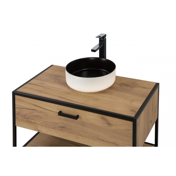 cabinet Manhattan 90 cm, without sink (in 2 boxes)