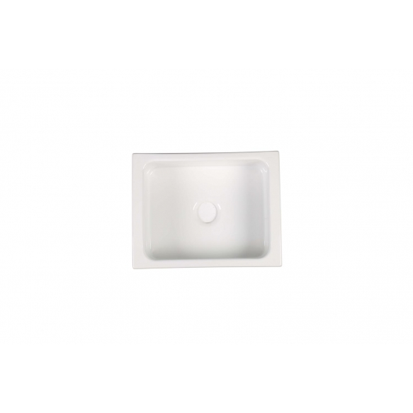 ceramic kitchen sink Hampshire, 60x47 cm, white