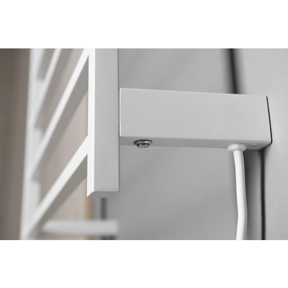 elektriline käterätikuivati Elzor 500x470 mm, 50W, matt valge
