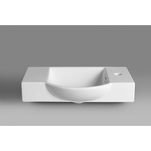keraamiline valamu Litos 55x32 cm, valge