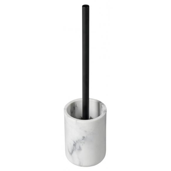 BIANCO Freestanding Toilet Brush/Holder, white