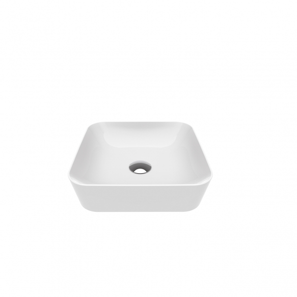 worktop washbasin Ultra 40x40 cm white