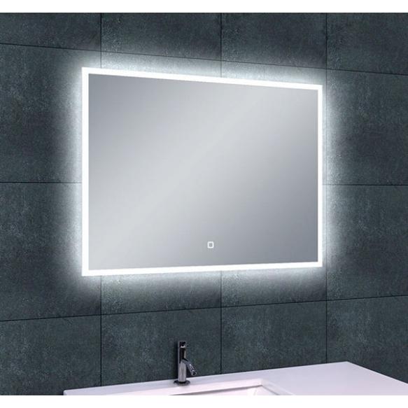 """LED peegel Quatro 80x60 cm, """"antifog"""""""