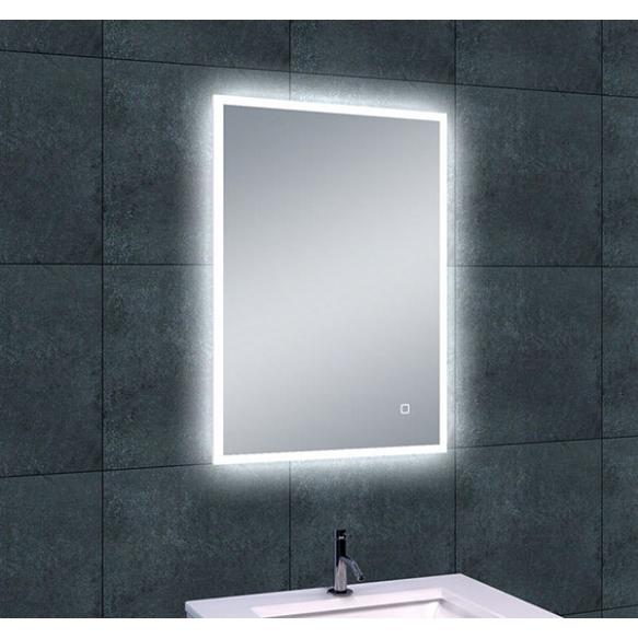 Rectangular LED mirror Quatro 700x500, antifog