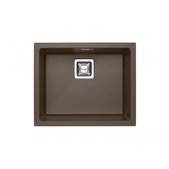 kivimassist köögivalamu Alveus Quadrix 50, chocolate G03M, rv fitingud ( 1108036 + 1133398)