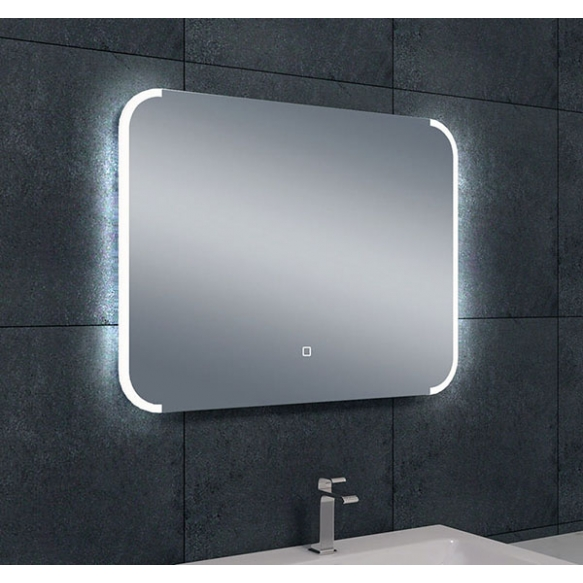 reguleeritava valgusega LED peegel Ambi 2, kondensaadivaba, 800x600 mm