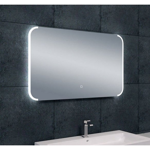 Bracket dimmable LED steam-free mirror 1000x600