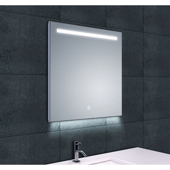 Ambi One dimmable Led steam-free mirror 600x600