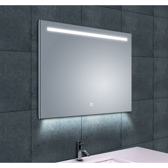 reguleeritava valgusega LED peegel Ambi 1, kondensaadivaba, 800x600 mm