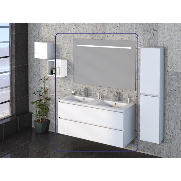 Exellence SEPHIA bathroom furniture 120 cm matt white