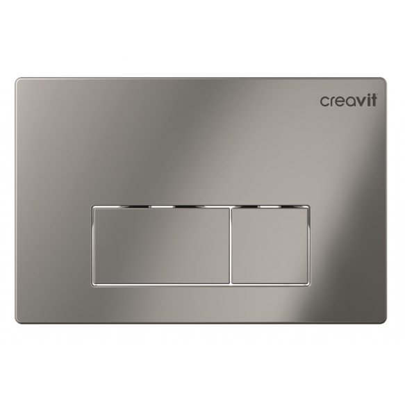 Creavit Arc flush plate, bright chrome