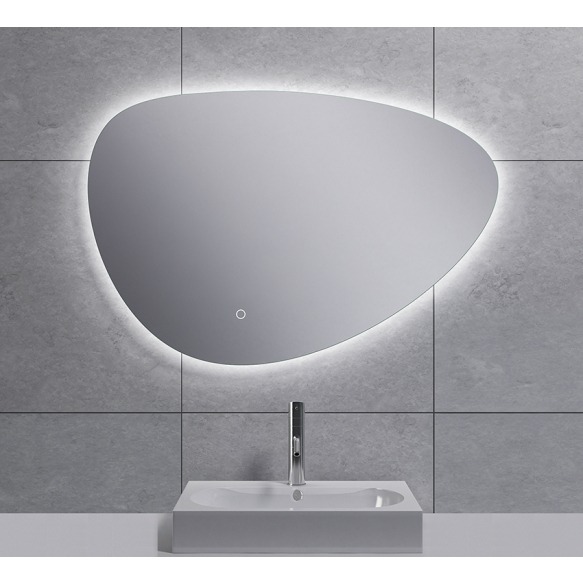 Uovo Led mirror 80x55 cm, dimmable, antifog