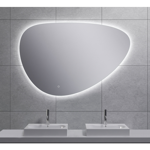 Uovo Led mirror 120x80 cm, dimmable, antifog