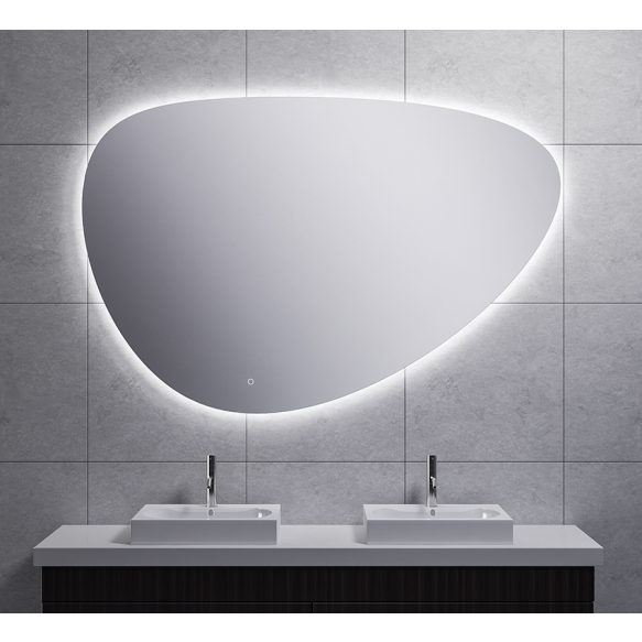 Uovo Led mirror 150x100 cm, dimmable, antifog