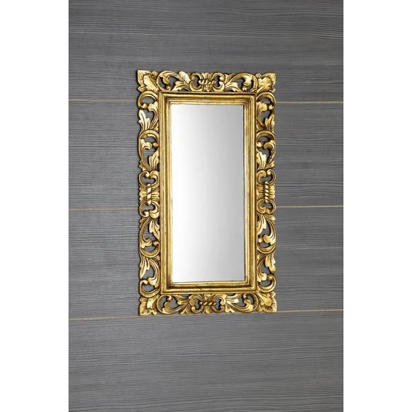 SAMBLUNG mirror wood frame, 40x70cm, Gold