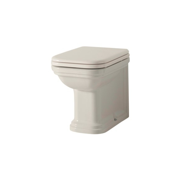 wc pan Waldorf floor mount - to be connected with wc frame