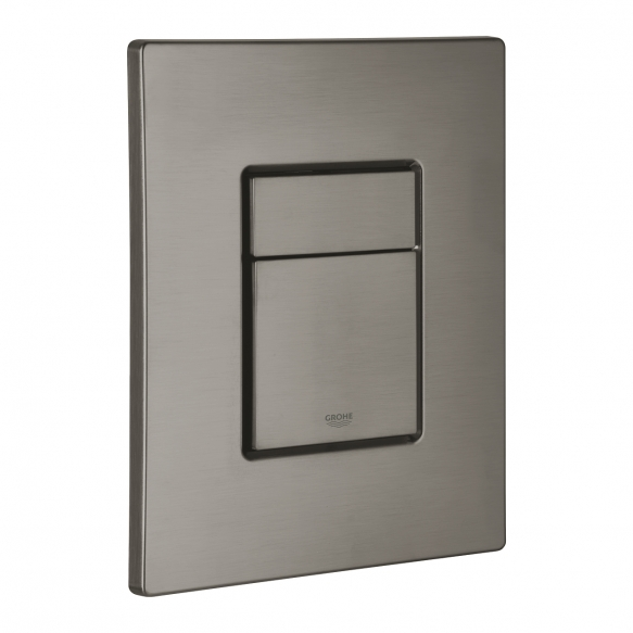 Grohe Skate Cosmopolitan flush plate, brushed hard graphite