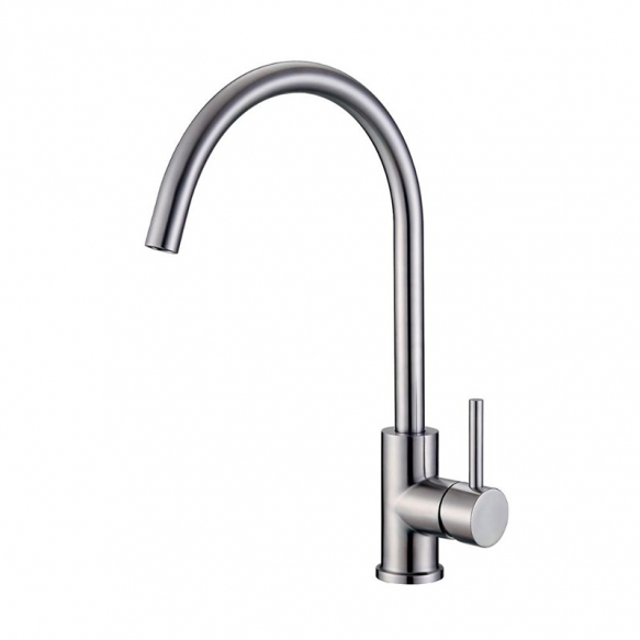 kitchen mixer Cherry, brushed steel
