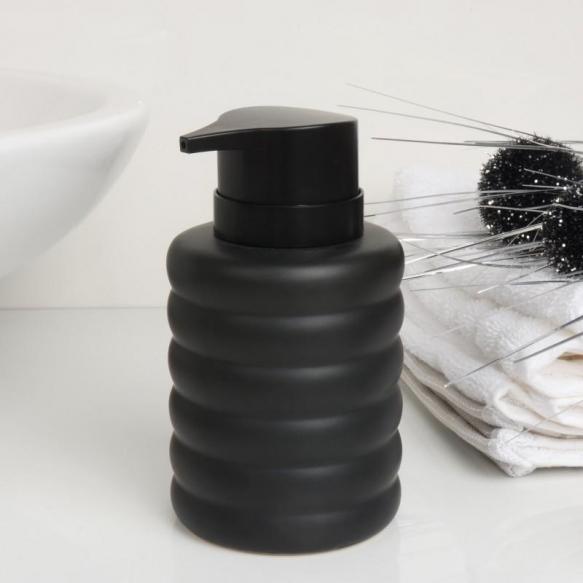 liquid soap dispenser Sarah, black