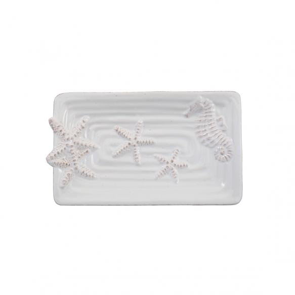 "6-1/4""L Dolomite Starfish Plate"