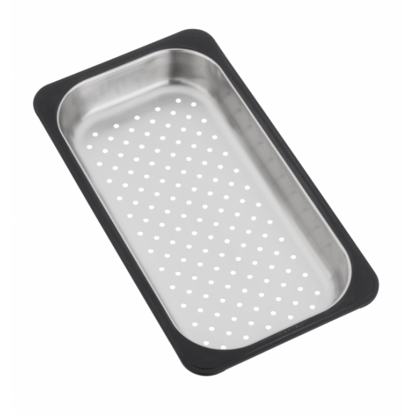 """Stainless steel colander, suitable for """"CUBA"""" range"""
