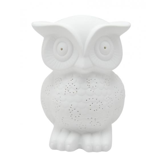 Table lamp Owl, h25cm