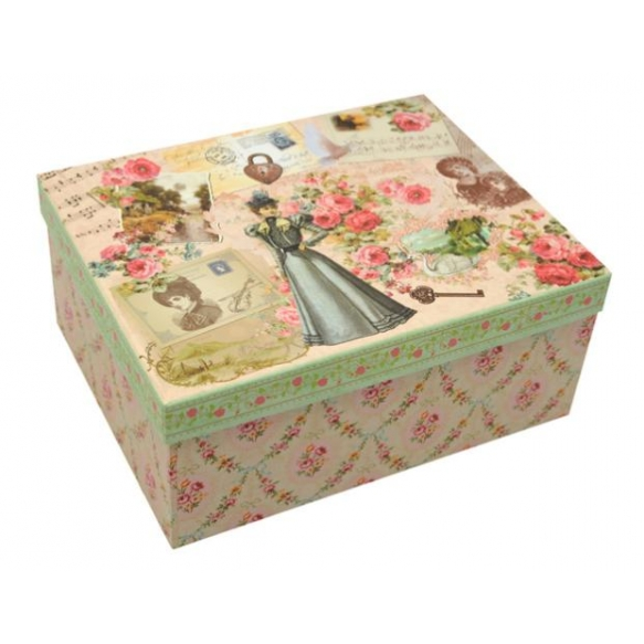 Paper box Manor lady, size 4, 20x13x8cm