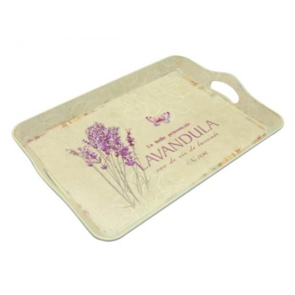 Tray Lavender, p[lastic, 43x30cm