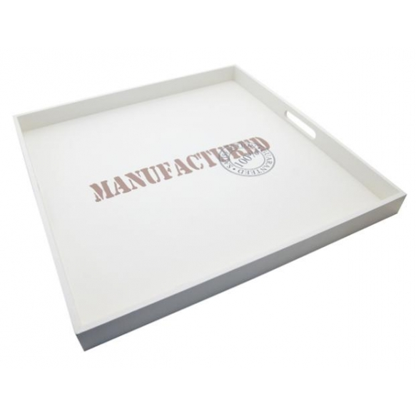 Tray Manufactured, 60x60cm