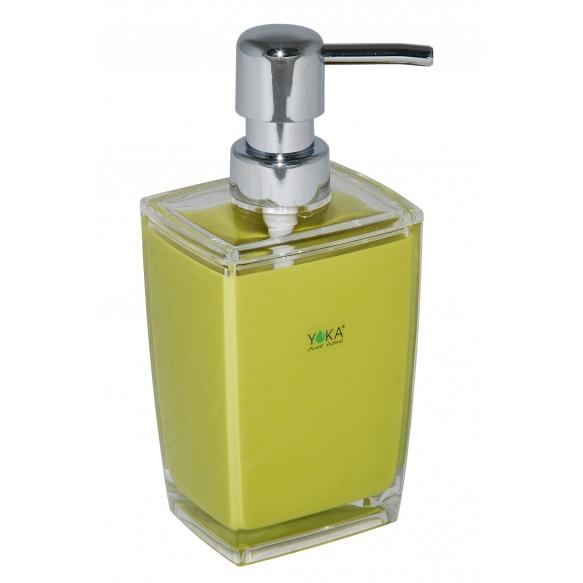 liquid soap dish KATI DARK GREEN