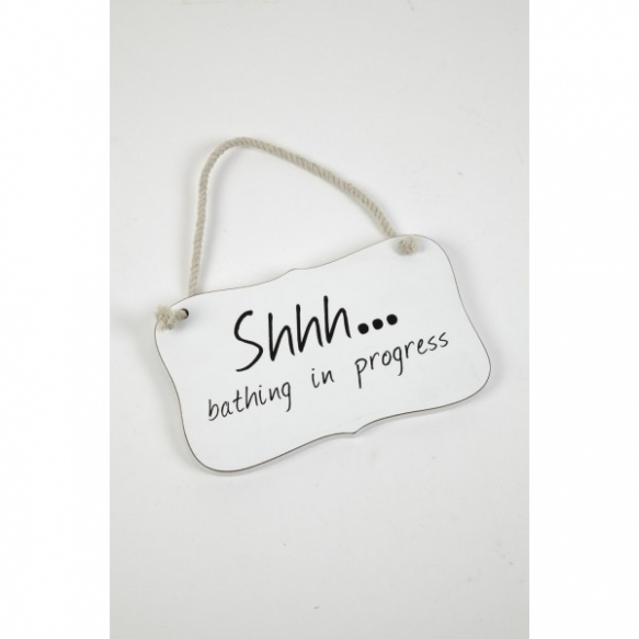 SHHH HANGING PLAQUE