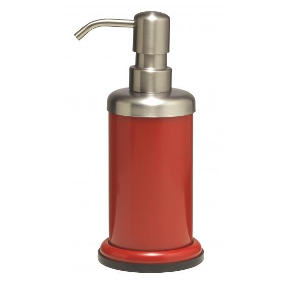 ACERO metal  soap dispencer, red